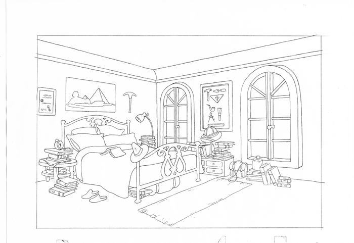 bed room coloring pages coloring pages